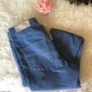 Zara Kids  Corduroy Blue Pants